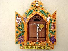 a squeleton in every closet by ElsantoMadrazo on Etsy, $50.00