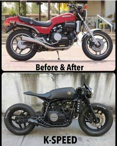 Read up on a couple of my favorite builds - handpicked scrambler hybrids like this Cb750 Cafe Racer, Cafe Racers, Cafe Racer Bikes, Cafe Racer Build, Moto Bike, Cafe Racer Motorcycle, Women Motorcycle, Motorcycle Gear, Cb 300