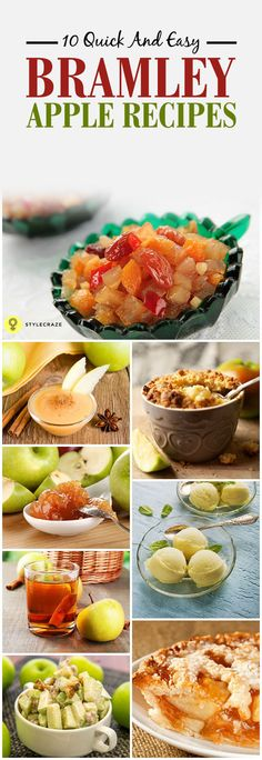 10 Quick And Easy Bramley Apple Recipes You Can Try Today Sauce Recipes, Cooking Recipes, Healthy Recipes, Bramley Apple Recipes, Sweet Sauce, International Recipes, Dessert Recipes, Desserts, Healthy Lifestyle