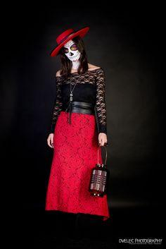 Dià de los muertos - Sugar Skull Studio Portraits, Photography, Vintage, Style, Fashion, Day Of The Dead, Death, Swag, Moda
