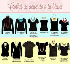 Collares, estilizar cuello, collares segun tu escote, accesorios, mexican brand