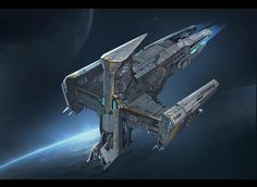 Ship Craft, Starship Concept, Advanced Warfare, Robot Technology, Spaceship Design, Space Pirate, Create Space, Spacecraft, Concept Art
