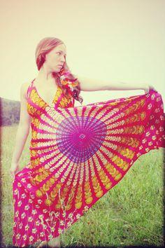hippie dress $38.00