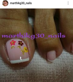Nail Manicure, Pedicure, Nail Polish, Toe Nail Art, Toe Nails, Toe Nail Designs, Nail Arts, Nail Colors, Hair Beauty