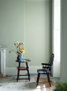 Launching Today: First Look at the Nine Brand New Farrow & Ball Paint Colors Drop Cloth 283 Decor, Cromarty, Colours, Wall Colors, Farrow And Ball Paint, Paint Colors, Farrow Ball, Room Colors, Paint Matching