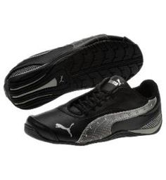 black puma tennis shoes