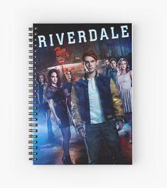 'Riverdale' Spiral Notebook by girlsbiteback Riverdale Book, Riverdale Shirts, Riverdale Poster, Riverdale Netflix, Riverdale Quiz, Riverdale Archie, Betty Cooper Riverdale, Riverdale Fashion, Riverdale Cole Sprouse