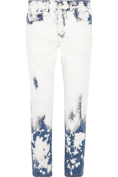 Gucci - Distressed Boyfriend Jeans - Mid denim - 27
