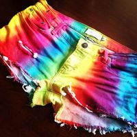"Rainbow Shorts ""Summer Must have"""