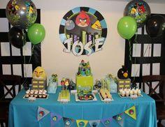 "Angry Birds City / Birthday ""Jose's 4th Birdsday Party"" | Catch My Party"