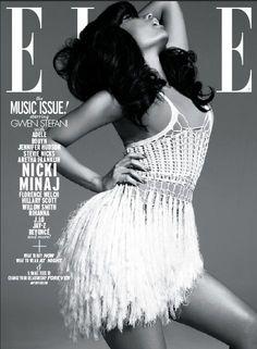 Nicki Minaj - Elle Magazine