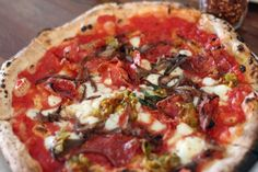 The Pizza with Bacon Marmalade at Cane Rosso in Dallas was named one of 15 Mind-Blowing Bacon Dishes by the Daily Meal