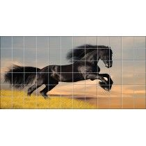 Stickers carrelage mural Cheval