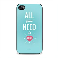 All You Need Is Love Panda iPhone 4, 4s Case