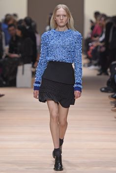 Carven's new designers adjusted the attitude in a sportier, more active direction. [Photo by Giovanni Giannoni]