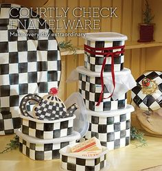 Perfect for leftovers, cookie storage, or crafts! Each piece comes with a BPA-free plastic lid. Mackenzie Childs Inspired, Mckenzie And Childs, Enamel Dishes, Home Furnishing Stores, Dining Decor, Coaster Set, Kids Playing, Home Crafts, Painted Furniture