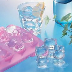 HK ice cube tray would give me the incentive to actually drink water....or to make super cute toothpick popsicles.