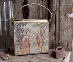 vintage victorian  purse/ bag by concealedjewel on Etsy, $15.99