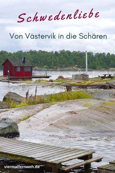 Kommt mit in die wunderschöne Welt der Schären an Schwedens Ostküste. Abfahrt mit dem Postboot ab Västervik. #Schweden #Natur #Sweden #Europa #Tipp #ReisenmitKind #Familienreise #Roadtrip