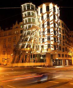 Praga, Ginger & Fred, edificios danzantes...