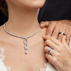 Happily wedded in Harry Winston. A lifetime of love begins with the world's most exquisite and rare jewels from Harry Winston. #BrilliantlyInLove
