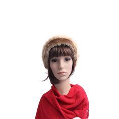 a6b00dbeba2b4 Boina Bege com Pelo  boinas  beret  berets  gorro Acessórios Femininos