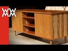 Build a '50s style credenza / TV cabinet | by Steve Ramsey