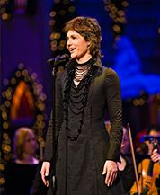 Norwegian-born singing sensation Sissel joined the Mormon Tabernacle Choir and Orchestra at Temple Square for their annual Christmas concert in 2006. In her first-ever Christmas album released in the U.S., Sissel collaborated with the world famous Choir to offer a dazzling program.