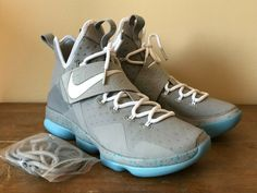 1795b53d2c1a Details about NEW Nike Lebron XIV 14 Mag Marty McFly Shoes 852405-005 Size  8.5