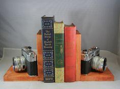 Yashica Electro 35 Camera ' boekensteunen ' voor de