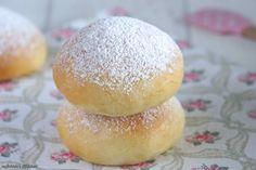 Schnin's Kitchen: Kleine Ofenberliner mit Marmelade gefüllt