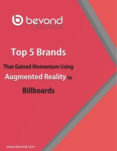 Using augmented reality billboards are the best bets brands are placing in advertising campaigns. Using augmented reality in marketing surely brings in a trans… Augmented Reality Technology, Billboard, Gain, Movie Posters
