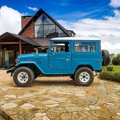 New restoration project 1978 Toyota Land Cruiser FJ40 Sky Blue #fjco1978skyblue…
