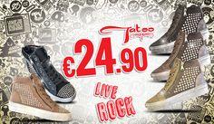 Vivi Rock con la nuova campagna Tatoo, solo 24.90€