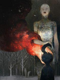 http://tobiee.deviantart.com/art/Motherland-Chronicles-31-flower-girl-II-416737409
