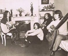 Led Zeppelin chilling out