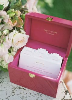 recipe shower | Jen Huang #wedding
