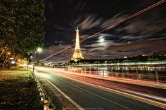 Paris at night II by Roberto Perez Maldonado on 500px