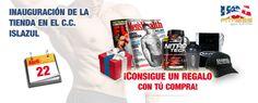 ¡¡INAUGURACIÓN DE LA TIENDA DEL C.C. ISLAZUL!!!   http://usafitness.es/es/content/24-nuevas-tiendas-