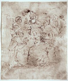 Rembrandt Drawings | Peter Paul Rubens / Philipp Sadeler / Nicolaes Maes / Rembrandt School