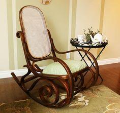 vintage rocking chair restoration