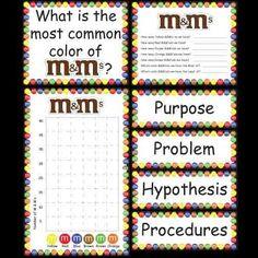 Kindergarten Science Fair Project - M's product from Kindergarten-Supplies on TeachersNotebook.com