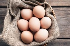 Brown Eggs Still Life in Bowl, Food Photography, Photo Print, Large Wall Art