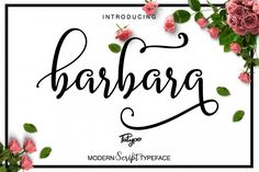 Barbara Script from FontBundles.net
