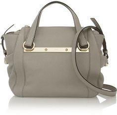 Chloé Bridget mini textured-leather shoulder bag on shopstyle.com