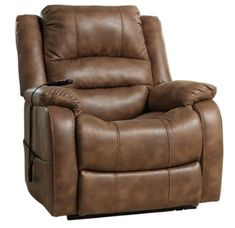 #recliner #chair #ashley #yandel #powerliftrecliner #comfortable #reclinerchair Oversized Recliner, Modern Recliner, Lift Recliners, Custom Comfort, Leather Recliner, Leather Armchairs, Leather Sectional, Reclining Sofa, Cool Chairs
