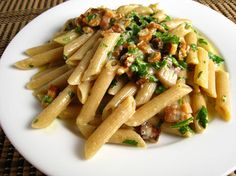 A Penne version of the pasta dish