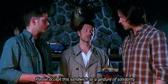 "Luckily he knows how to make amends. | Why Castiel Is Everyone's Favorite On ""Supernatural"""