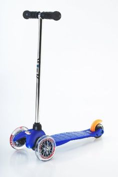 3rd Bday Mini Micro Scooter - Blue