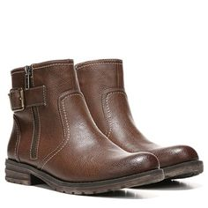 Natural Soul by Naturalizer Women's Bariano Medium/Wide Bootie at Famous Footwear